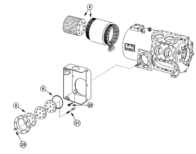Junction Box And Motor Compressor Design A To L